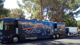 John Lennon Educational Tour Bus 2012 Sept. AM