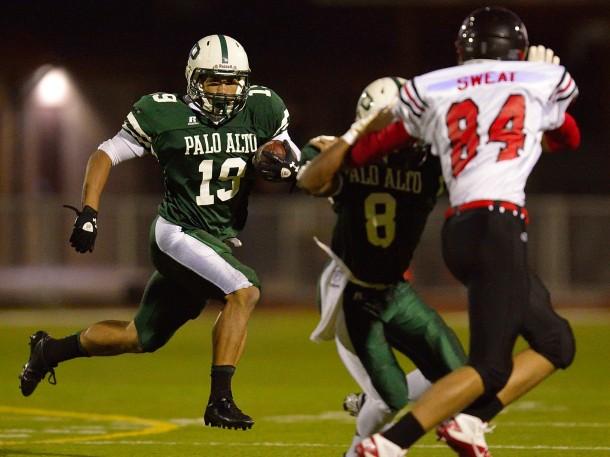 Football recap: Paly pummels Gunn, 48-0