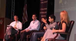 The panel discusses the impact of technology on education, and their vision for the future of this synergistic field.