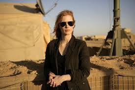 Jessica Chastain has received Academy attention for her portrayal of Maya, a CIA agent who is relentless in her search of the location of Bin Laden. Photo by Columbia Pictures.