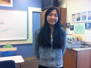 Junior Jennifer Wang recently returned to Paly after a week spent at the Bolshoi Academy in Russia. Wang, a ballerina, aspires to be a professional dancer.