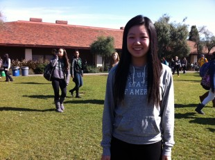 Olympic table-tennis player Lily Zhang is a junior here at Paly. She hopes to return to the olympics in 2016.