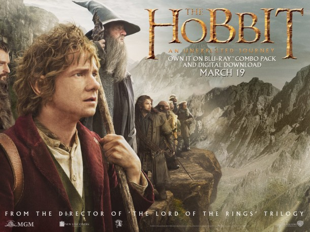Peter Jackson recreates the world of JRR Tolkein's The Hobbit brilliantly. The film adaptation opened in theaters on Dec. 13, 2012, and constitutes the first of another trilogy following Bilbo Baggin's journey. Photo property of Warner Bros.
