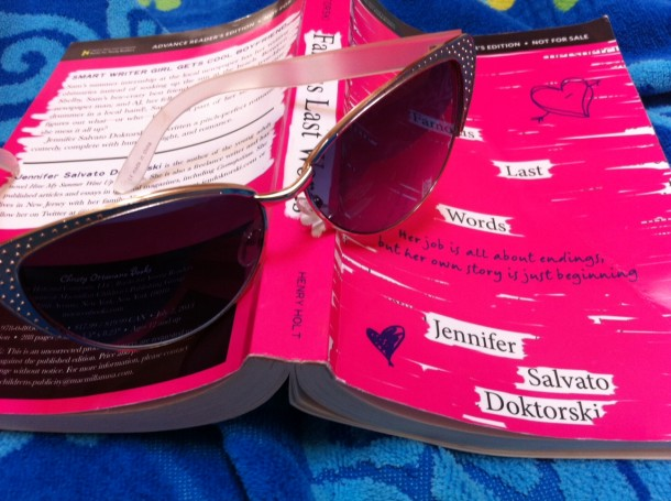 Doktorski's book may be rather brainless, but it's perfect for a summer read by the pool. Photo by Paige Esterly