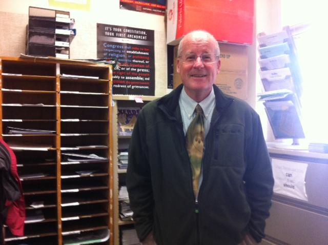 Jack Bungarden is Paly's resident AP US History teacher and neck tie aficionado