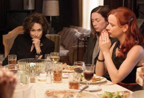 """August: Osage County"" features Meryl Streep, Julianne Nicholson and Juliette Lewis. Photo by  Weinstein Co."