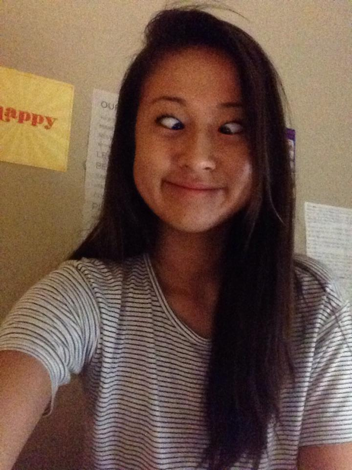 2014-15 ASB President Claire Liu poses for a selfie. Photo by Claire Liu.