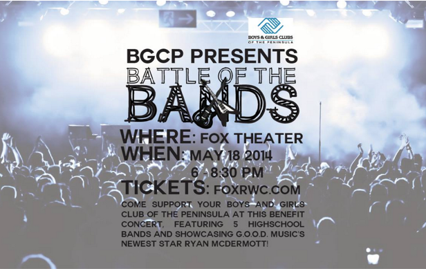 The Boys and Girls Clubs of the Peninsula are hosting their event on May 18 in the Fox Theatre. Flyer courtesy of Kathleen Xue.