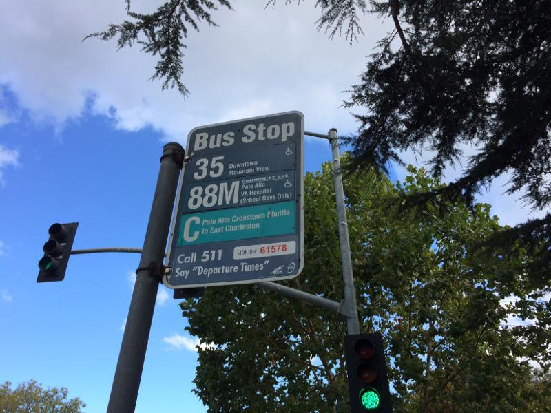 The Palo Alto shuttle will be expanding its routes. The service works to address traffic and parking and has been running since 1999. Photo by Christian Leong.
