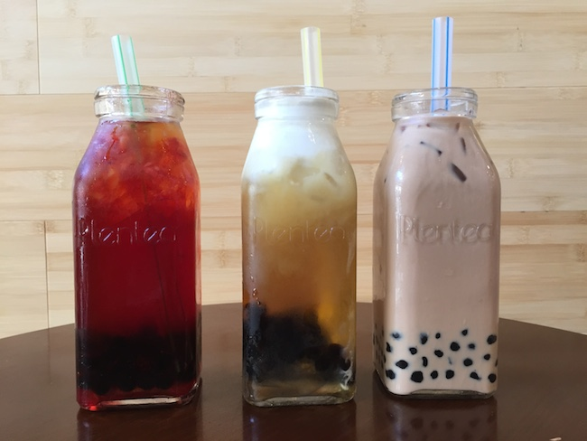 Plentea is this week's best reviewed PMT. Plentea specializes in fruit teas, crema oolong teas and pearl milk teas. Photo by Alex Merkle-Raymond
