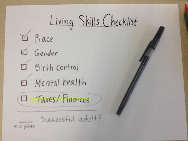 The Living Skills curriculum is misleading if the name of the class is to be taken literally. More practical subjects should be included in the course. Photo by Maya McNealis.