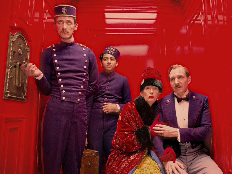 """""""The Grand Budapest Hotel"""" has been nominated for 9 Oscars.  The film is an in depth magical-reality produced in the form of storytelling. Photo: Oscars."""