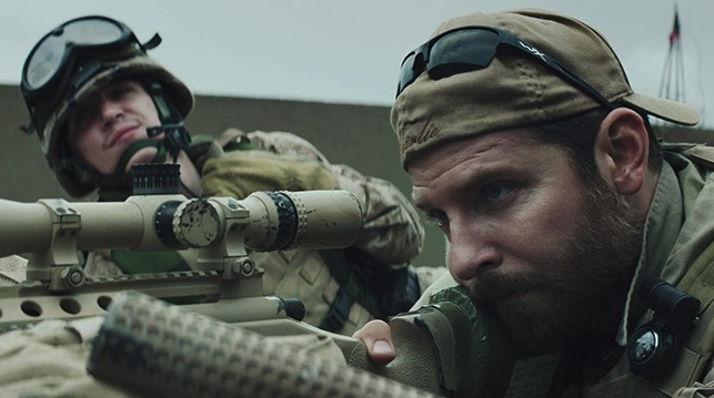 As a sniper, Chris Kyle (Bradley Cooper) protects the American soldiers moving through the Iraqi streets. He eventually becomes the most efficient sniper in U.S. history. Photo by Warner Bros.
