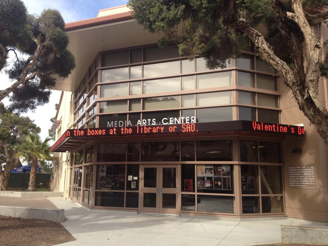 The Media Arts Center displays notifications on its ticker. Palo Alto High School has always been a visionary in Journalism and with a project to archive past Journalism, Paly hopes to preserve its vibrant history. Photo by the Paly Voice.