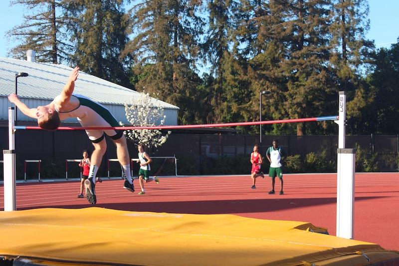 rowan mcevoy high jump photo by lizzie chun track and field