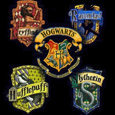 The various Hogwarts houses within the Harry Potter Series. Photo courtesy of Creative Commons.