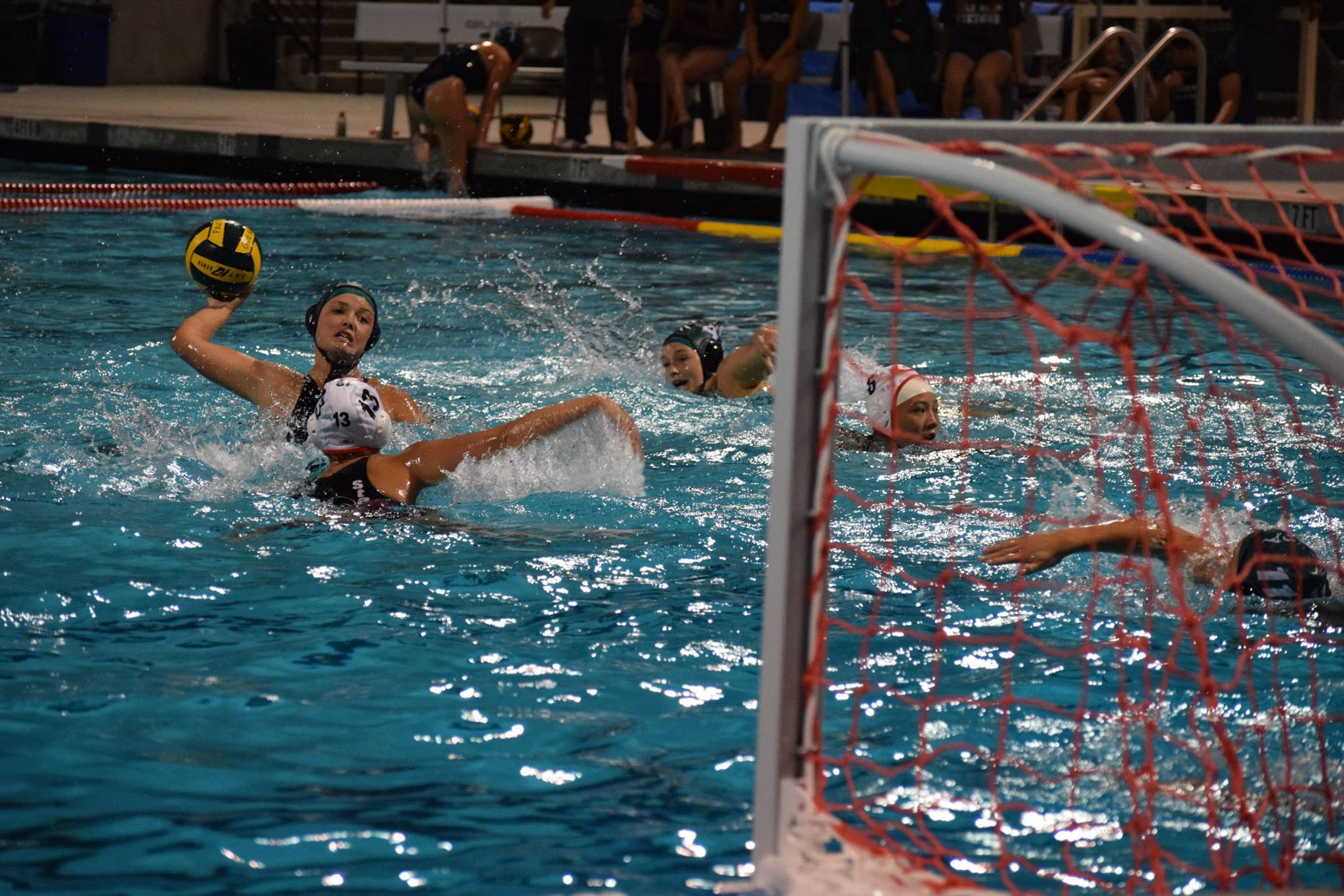 The Palo Alto High School girls' water polo team ends a strong season with a loss Photo by Chirag Akella.