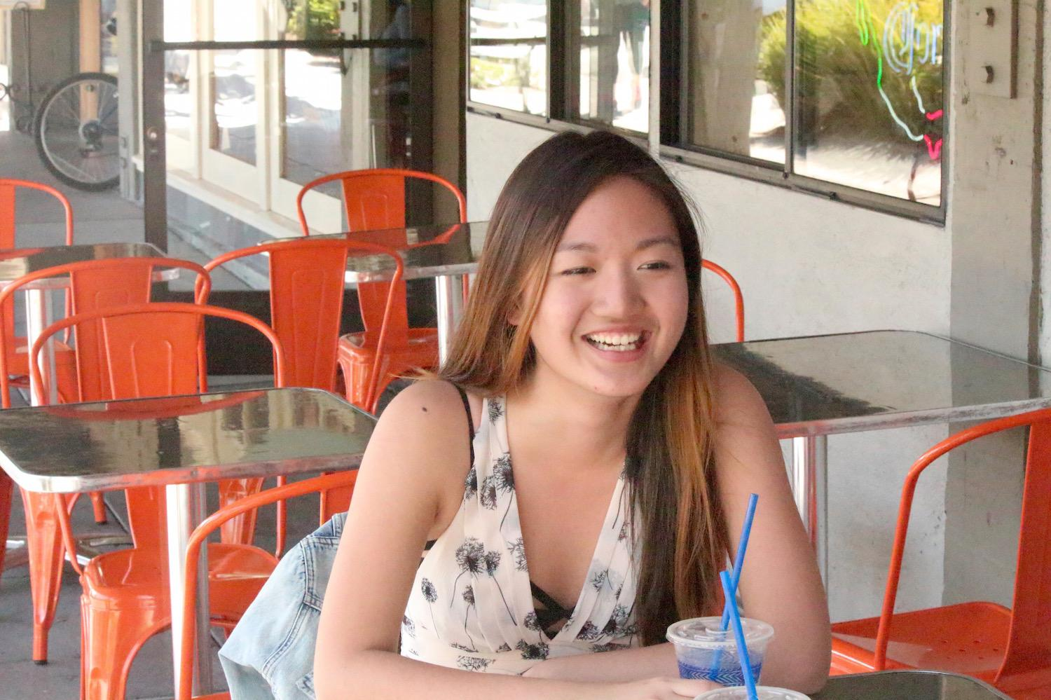 Junior Georgina Wu sat down with The Paly Voice to discuss her various tastes in music including classical and alternative rock. Photo by Aisha Chabane