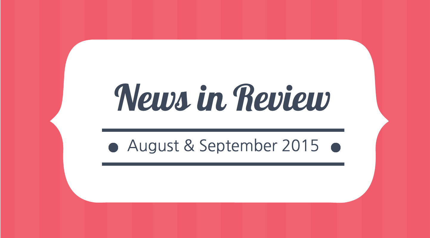 News in Review aug/sept
