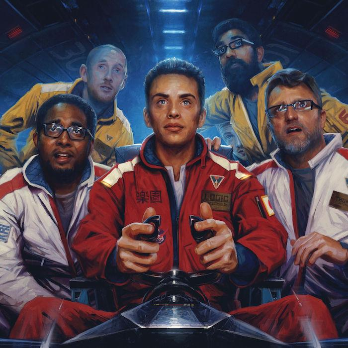"Logic's album cover for ""The Incredible True Story"". Photo by iTunes."
