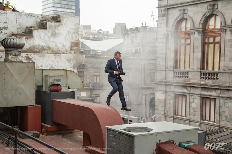 """James Bond has returned within the new film, """"Spectre."""" Overall the film is satisfactory, but plot details take away from the action scenes and the story itself. Photo by MGM"""