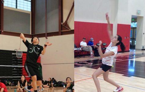 Star players lead badminton team to successful season