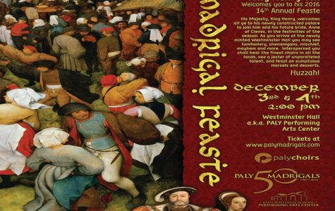 Madrigal Feaste to take place in Performing Arts Center