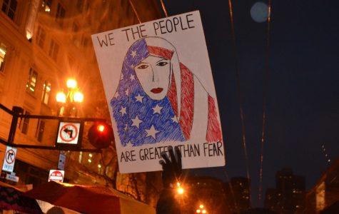 Greater than fear: Women's March in San Francisco