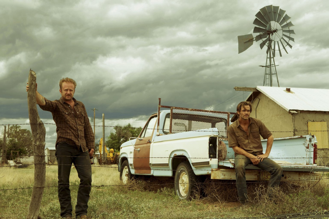 """David MacKenzie's """"Hell or High Water"""" follows brothers Tanner (left) and Toby Howard (right) through a series of bank robberies in a final effort to save their estate from looming foreclosure. The film is nominated for four academy award including Best Motion Picture of the Year, Best Performance by an Actor in a Supporting Role, Best Writing, Original Screenplay, and Best Achievement in Film Editing. Photo: The Oscars Official Website."""