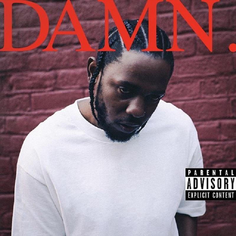 Cover art for Lamar's latest album Damn. Picture taken from kendricklamar.com