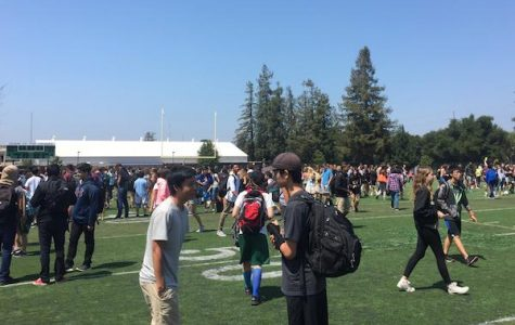 Students, teachers frustrated as third fire alarm of the school year halts classes