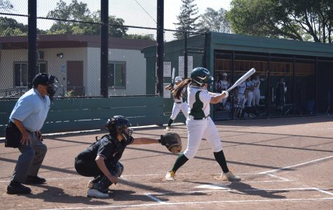 Girls' softball falls to Los Altos on senior night