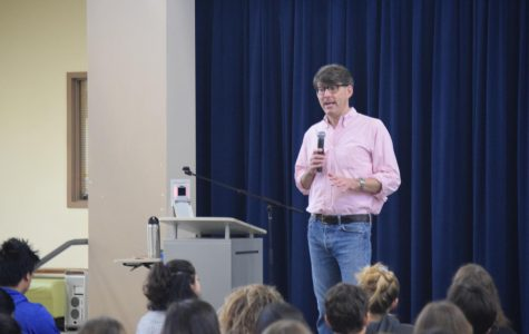 Career speaker recap: Environmental lecturer on defining your future