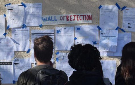 The Wall of Rejection: Students combat the stress of college admissions