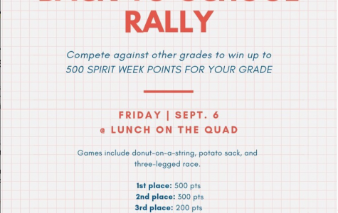 Back-to-School Rally offers early Spirit Week advantage