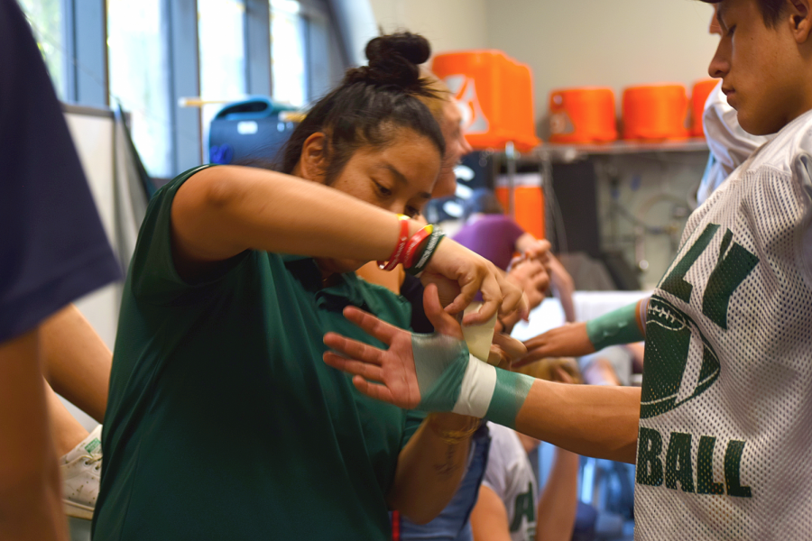 Behind the scenes of Paly Athletics with Justine Iongi