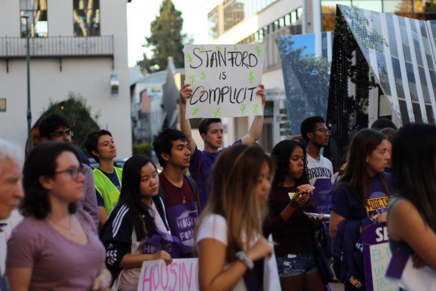 Stanford GUP protest drives large turnout