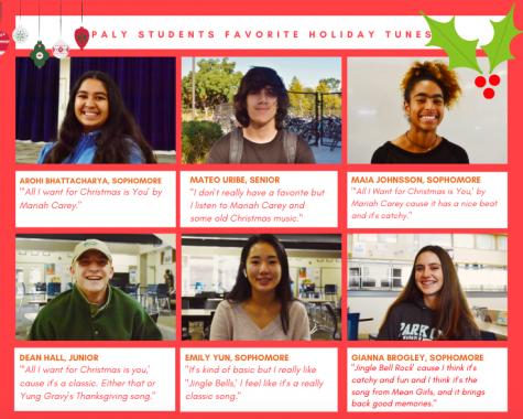 Verbatim: Students' favorite holiday tunes