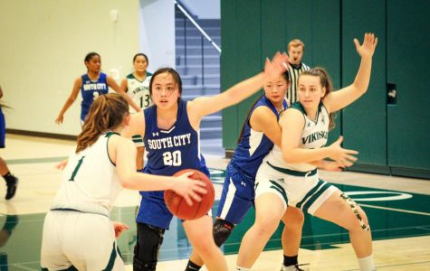 Girls' basketball wins first game of the season