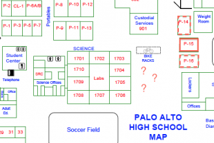 Palo Alto High School Map Admin looking to expand science building   The Paly Voice