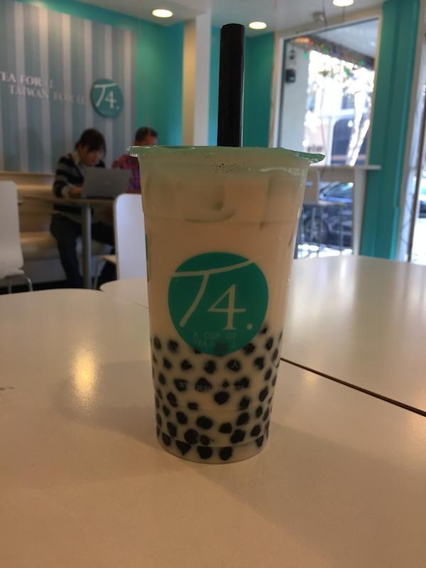 T4 has a lot of customer options for sweetness and ice amounts. Next time, I would order less sweetness because it was very sweet. Photo by Alex Merkle-Raymond