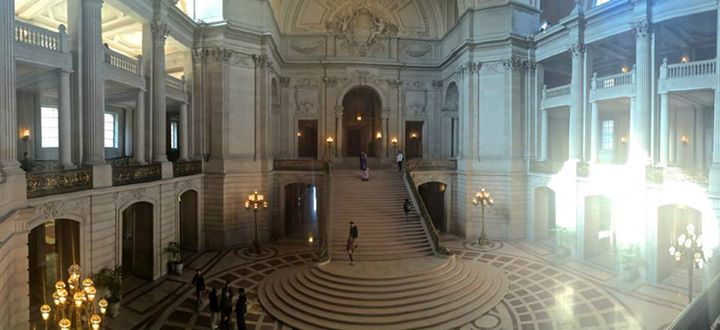 Palo Alto High School's Associated Student Body will host Prom 2015 on April 18 at San Francisco City Hall. The rotunda and upper balcony spaces will all be available for students to enjoy. Photo courtesy of Paly ASB.