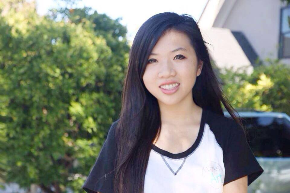 Lu is a junior at Paly. Photo by Karina Chan