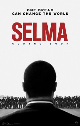"""Selma"" is a historical drama that concentrates on Martin Luther King Jr. (David Oyelowo) and the 1965 marches from Selma to Montgomery, Ala. ""Selma"" received two Oscar nominations: Best Picture and Best Original Song (for ""Glory""). Photo courtesy of Paramount Pictures."