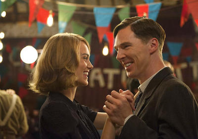 "Keira Knightley and Benedict Cumberpatch star in ""The Imitation Game."" Knightley is the only star female character and outshines many of the other Enigma team members."