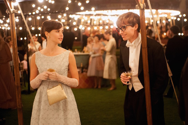 "Felicity Jones and Eddie Redmayne star in ""The Theory of Everything"". Their chemistry and talented performances result in a movie truly worthy of its Best Picture nomination."
