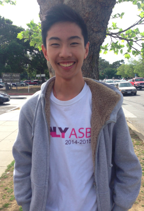 Junior Joseph Kao is current ASB secretary who is running unopposed for the position of next year's ASB secretary. Photo by Claire Krugler.