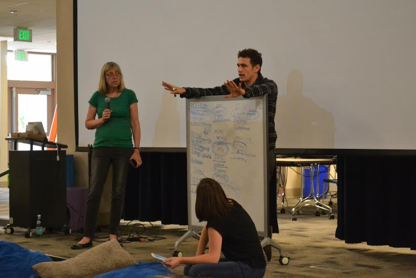 James Franco teaches first film workshop - The Paly Voice