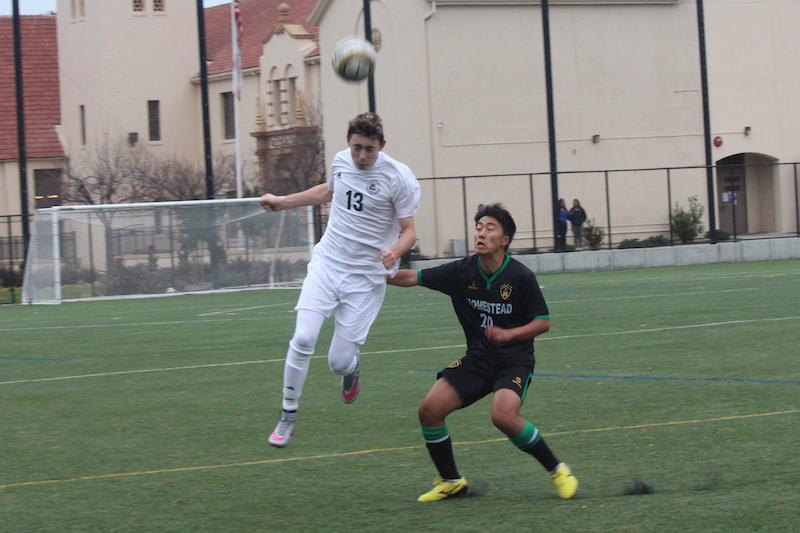 Boys' soccer triumphs over Homestead