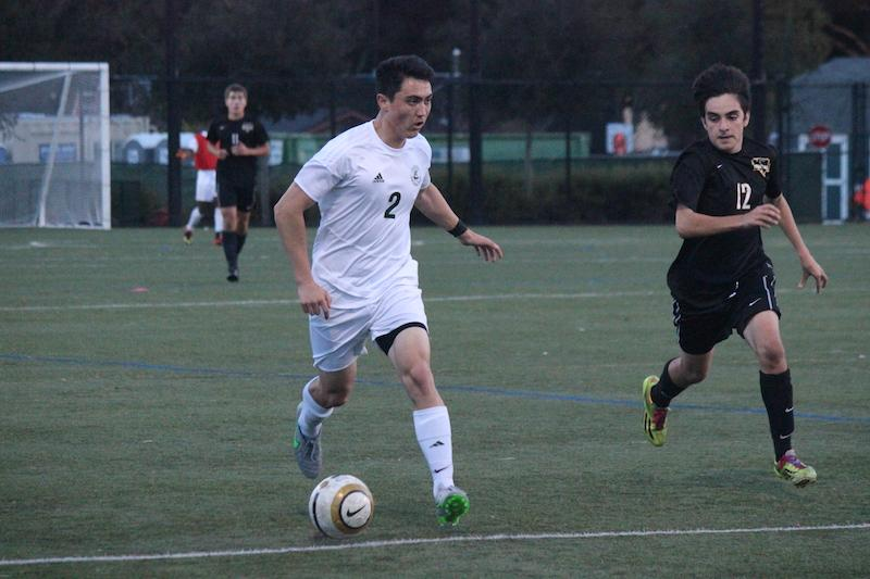 Boys' soccer routs Mountain View